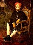 His Highness Maharaja Sri Krishna Raja Wadiyar IV (Nalwadi Krishna Raja Wadiyar) 1884-1940